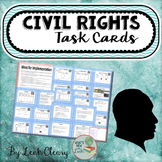 Civil Rights Task Cards