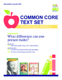 Civil Rights Common Core Text Set