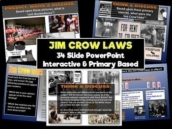 Segregation and the Jim Crow Laws