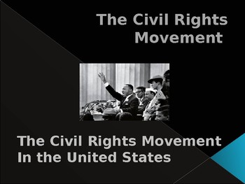Civil Rights & The Sixties