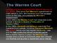 Civil Rights & The Warren Court