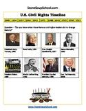 6 - 12 th Grade U.S. Civil Rights Timeline