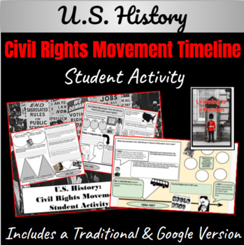 Civil Rights Timeline Graphic Organizer