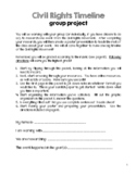 Civil Rights Timeline Research Packet