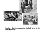 Civil Rights Unit Flipchart- School Desegregation