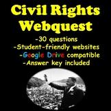 Civil Rights Webquest- Martin Luther King Jr., Rosa Parks,