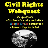 Civil Rights Webquest- Martin Luther King Jr., Rosa Parks,