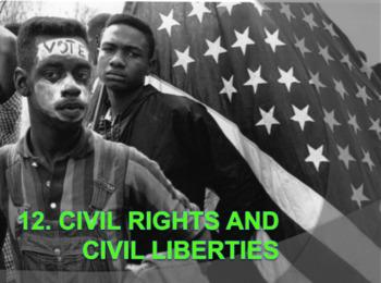 Civil Rights and Civil Liberties (AP Government) Bundle w/ Video Google Drive DL