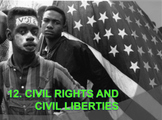 Civil Rights and Civil Liberties (AP Government) Bundle w/