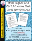 Civil Rights and Civil Liberties Test: AP® Government (UPDATED for 2019 Exam)