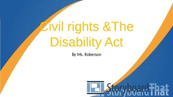 Civil Rights and The Individuals with Disabilities Act Power Point Teaching Tool
