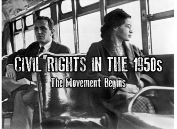Civil Rights in the 1950s PowerPoint