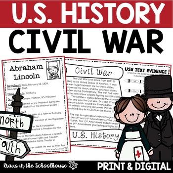 Civil War - Engaging Activities to Teach U.S. History