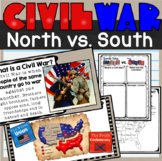 Civil War 101 North vs. South Lesson and Notes SS4H5