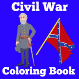Civil War Worksheets Activity