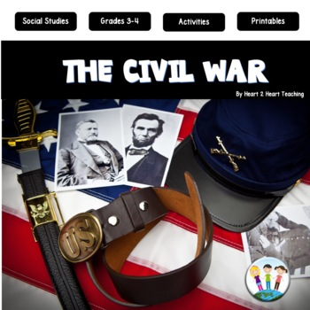 American Civil War Unit with Articles, Activities, & Flip Book