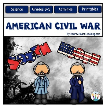 Civil War - Abraham Lincoln, Harriet Tubman, Clara Barton & More! -100 pages!