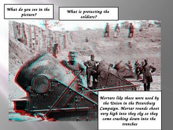 Civil War 3D PowerPoint (Petersburg Campaign)