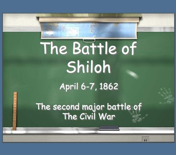 Civil War # 5 The Battle of Shiloh