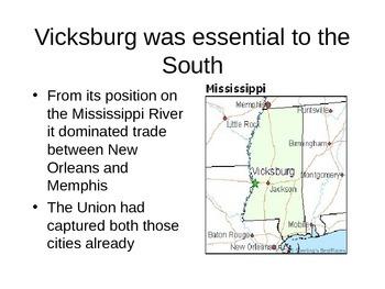 Civil War # 9 The Siege of Vicksburg