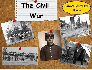 Civil War - A Fourth Grade SMARTBoard Introduction