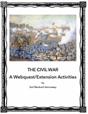 Civil War:  A Webquest/Extension Activities