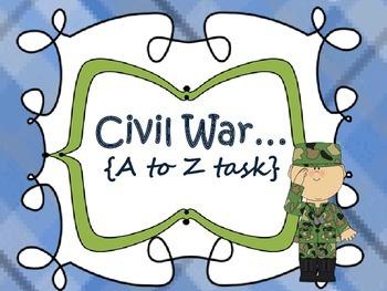 Civil War {A to Z}