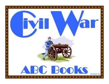 Civil War ABC Book Project for Grades 3-8