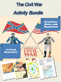 Civil War Activities: 31 Total Lessons!