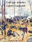 Civil War Activities for Kids: Cursive Copywork
