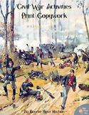 Civil War Activities for Kids: Print Copywork