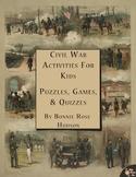 Civil War Activities for Kids: Puzzles, Games, & Quizzes