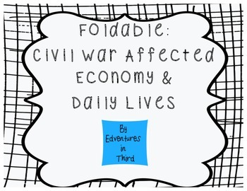 Civil War Affected Economy and Daily Life in SC