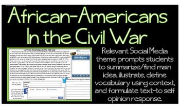 Civil War African-Americans