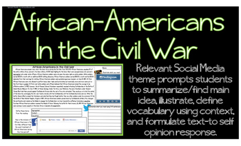 Civil War African-Americans