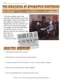 Civil War Appomattox Court House Primary Source Analysis Worksheet
