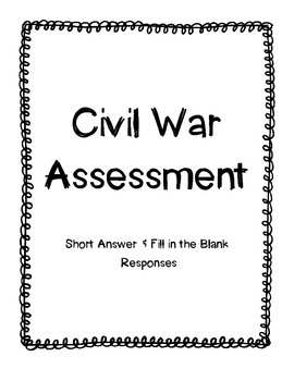 Civil War Assessment
