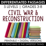 Civil War Differentiated Passages Bundle