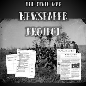 Civil War Battle Newspaper Project