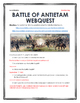Civil War - Battle of Antietam - Webquest with Key