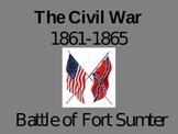 Civil War - Battle of Fort Sumter