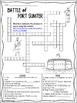 Civil War - Battle of Fort Sumter Internet Scavenger Hunt Crossword Puzzle
