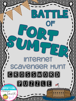 Civil War - Battle of Fort Sumter Internet Scavenger Hunt
