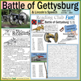 Civil War – Battle of Gettysburg And President Lincoln's S