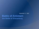 Civil War Battles: Battle of Antietam