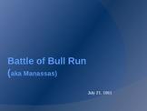 Civil War Battles: Battle of Bull Run