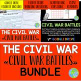 Civil War Battles - Bull Run, Antietam, Gettysburg, Appomattox Courthouse BUNDLE