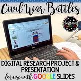 Civil War Battles Digital Research Project & Presentation