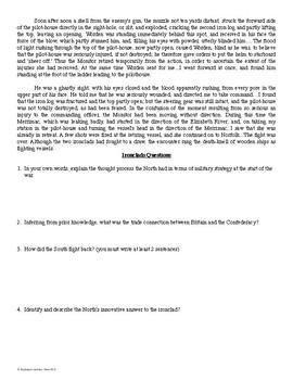 Civil War Battles: Primary Source Analysis