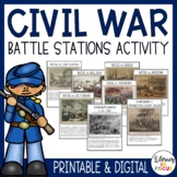 Civil War Activities - Battle Stations